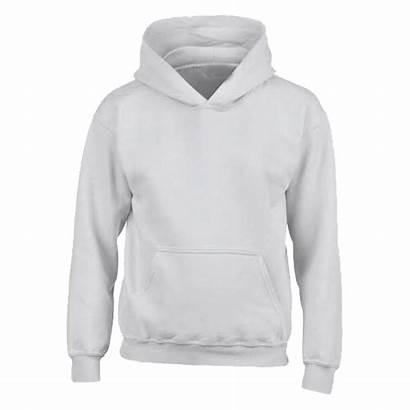 Sweatshirt Gildan Blanc Hoodie Sweat Hooded Plain