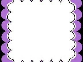 Purple Borders and Frames Clip Art