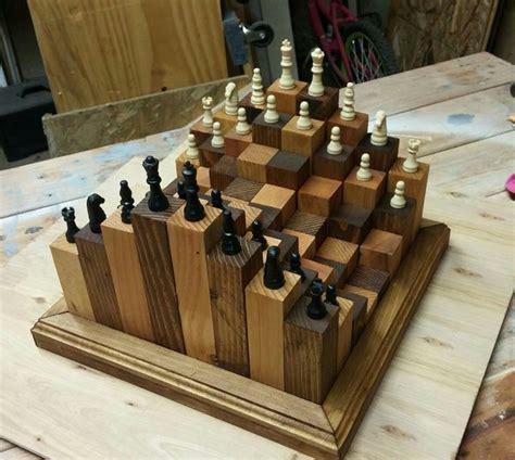 custom  chess set woodworking ideas   diy