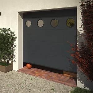 porte de garage sectionnelle surf plafond franciaflex With porte de garage enroulable et porte d intérieur isolante thermique
