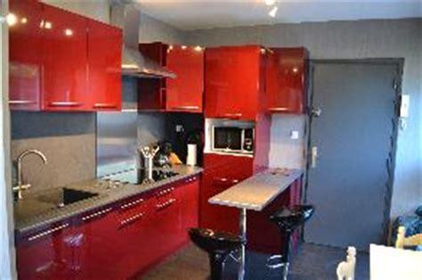 meuble cuisine colonne four micro onde les cuisines brico dépôt