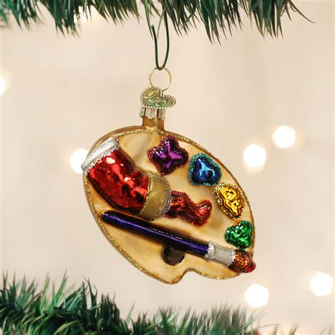 artist s palette ornament glass ornaments by old world