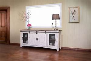 ifd360stand 80 pueblo white 80 inch tv console r home With 80 inch barn door