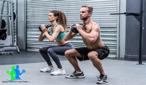 kettlebell squats squat zercher workout exercise terrific ways complete different number