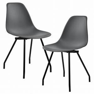 Stühle Retro Design : 2x design st hle esszimmer stuhl plastik ~ Pilothousefishingboats.com Haus und Dekorationen