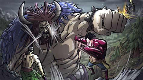 Kaido vs Strawhat Pirates - One Piece by Isural on DeviantArt