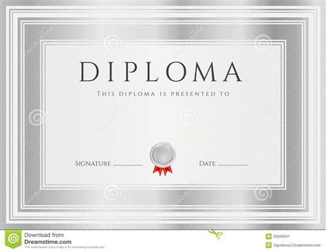 diploma sertificate award template frame royalty
