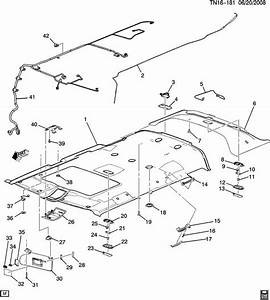 Gm Vehicles Electronic Compass Module New Oem 25815766