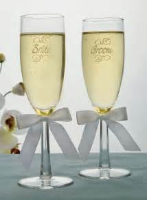 wedding glasses engraved groom wedding toasting flutes