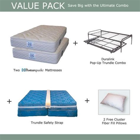 pop up trundle bed set two twins make a king size bed