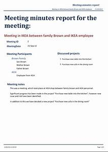 Standard minutes of meeting template 5 best and for Standard minutes of meeting template