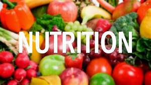 Nutrition - Lessons