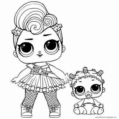 Lol Coloring Pages Sisters Lil Colouring Surprise