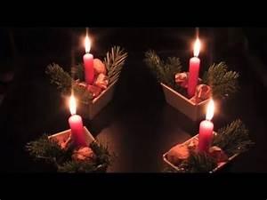 Weihnachtsgestecke Selber Machen : adventskranz selber machen mit backf rmchen wohnprinz youtube ~ Whattoseeinmadrid.com Haus und Dekorationen
