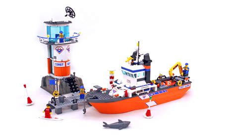 How To Make A Lego Minecraft Boat by Coast Guard Patrol Boat Tower Lego Set 7739 1