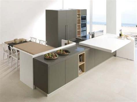 table de cuisine retractable un plan de travail coulissant donnera plus d 39 espace dans