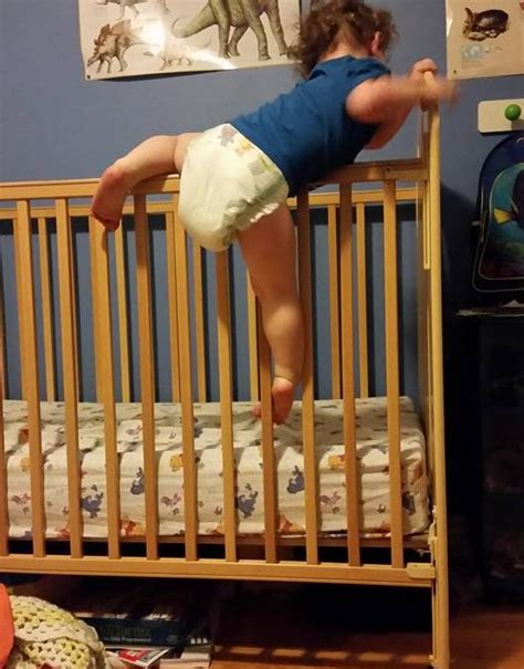 baby climbing out of crib guide to preventing climbing out of the crib kindersleep