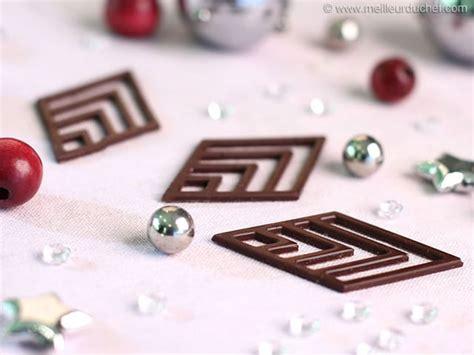 losanges en chocolat notre recette illustr 233 e meilleurduchef