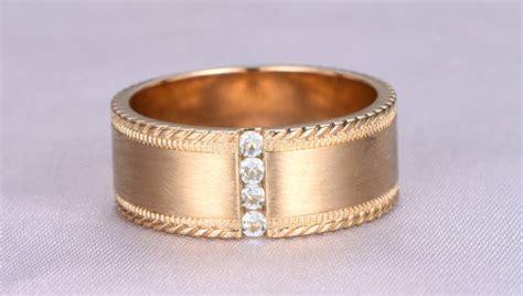 13+ Men's Wedding Ring Designs, Trends, Models