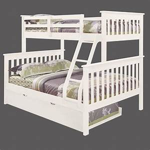 White Bunk Beds Twin Over Full - WoodWorking Projects & Plans