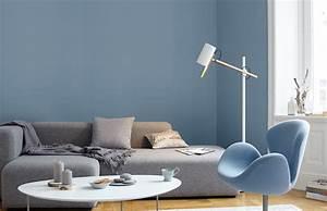 Schöner Wohnen Farbe Blau : premium wandfarbe blau graublau alpina feine farben ruhe des nordens alpina farben ~ Frokenaadalensverden.com Haus und Dekorationen