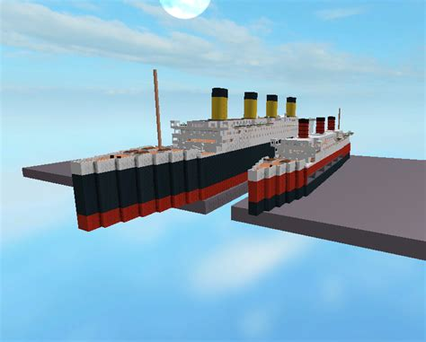 titanic sinking simulation kni0002 on quot titanic vs sinking ship simulator