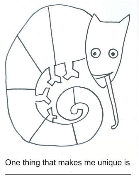 chameleon template here s a worksheet for the mixed up chameleon eric carle chameleons worksheets