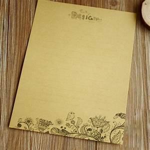 popular flower writing paper buy cheap flower writing With vintage letter writing paper