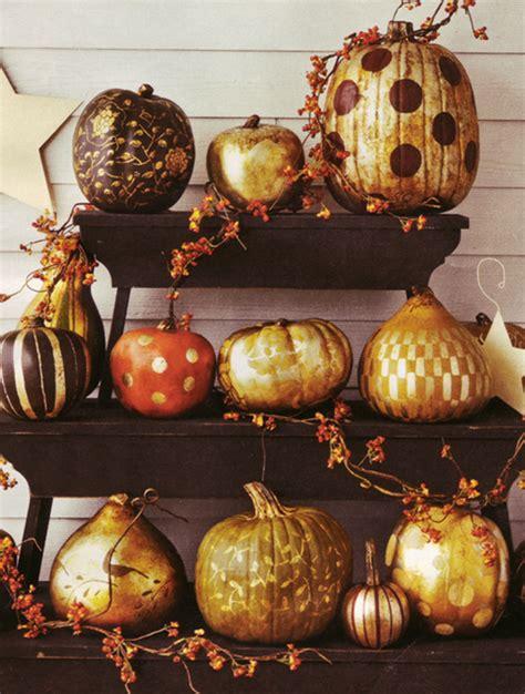 pretty pumpkins for fall one pretty pin gilded pumpkins chickabug