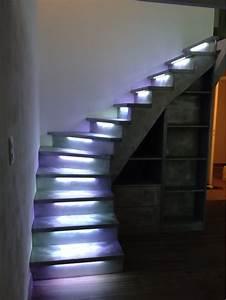 Eclairage Led En Ruban : smb concept eclairage escalier ~ Premium-room.com Idées de Décoration