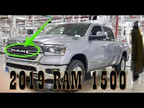 [watch Now] 2019 Ram 1500 Leaked  From Factory Floor