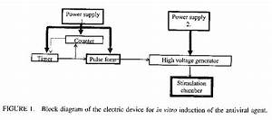 Block Diagram Of The Electric Device For In Vitro
