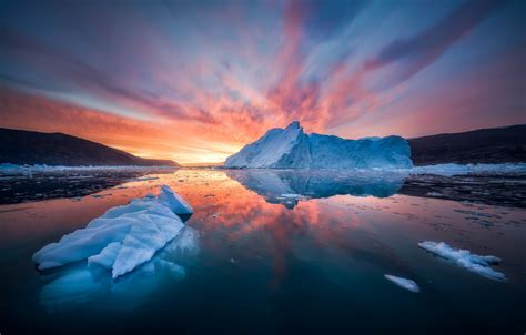 greenland snow sunset sea iphone the world s best photos by hpd fotografy flickr hive mind