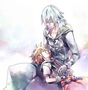Kingdom Hearts Sora and Riku