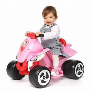 Voiture Enfant Fille : hello kitty voiture quad electrique enfant 6 volts achat vente quad kart buggy cdiscount ~ Teatrodelosmanantiales.com Idées de Décoration