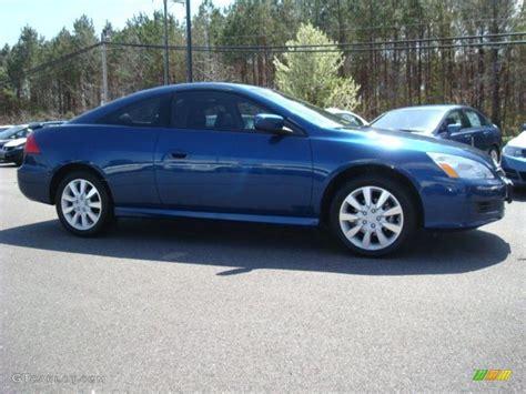 Sapphire Blue Pearl 2007 Honda Accord Ex V6 Coupe Exterior