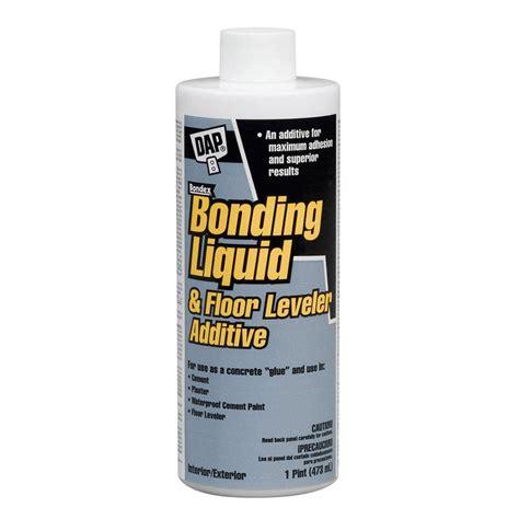 dap floor leveler additive dap 16 fl oz gray bonding liquid and floor leveler