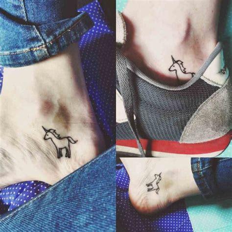 ankle tattoo unicorn  tattoo ideas gallery