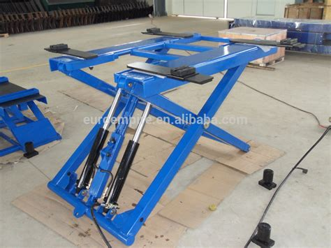 2724kg/6000lb Paypal Double Cylinder Hydraulic Electric
