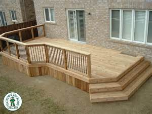Stunning Raised Decking Designs Photos by 1000 Ideas About Deck Railing Design On
