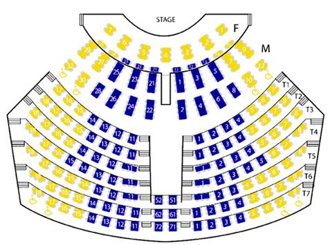 palace theater   dells seating chart