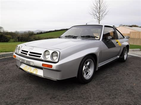 Opel Car : Rare, Rally-bred Opel Manta 400 For Auction At Cca