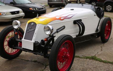 1931 Alfa Romeo Kit Car by Seller Of Classic Cars 1966 Replica Kit Makes 1931 Alfa