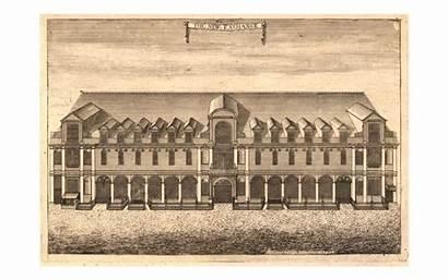 Strand British Museum London Shops Engraving 1715