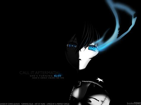Anime Black Wallpaper - black rock shooter wallpaper and background image