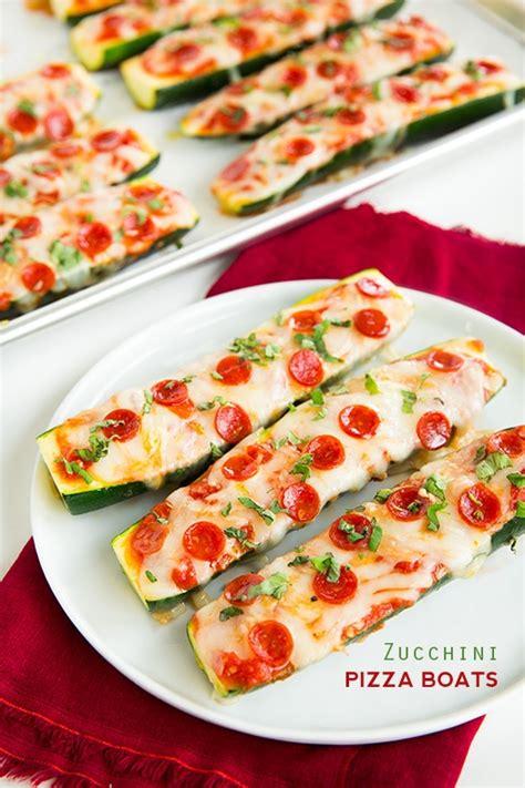 Zucchini Boats Pizza by Zucchini Pizza Boats Cooking