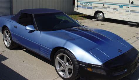 painted stripes    corvette