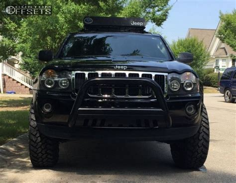 2006 jeep grand cherokee custom wheel offset 2006 jeep grand cherokee aggressive 1 outside