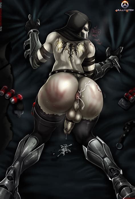 Analwatch Reaper Buttslut By Therealshadman Hentai Foundry