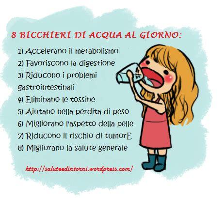 Bicchieri D Acqua Al Giorno by Perch 232 Bere Almeno 8 Bicchieri D Acqua Al Giorno